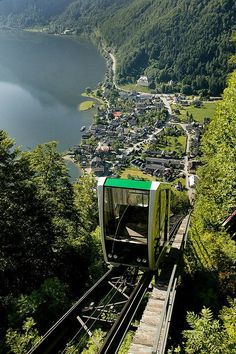 A view of Hallstatt, Austria from above. Places Around The World, The Places Youll Go, Places To See, Around The Worlds, Places To Travel, Travel Destinations, Travel Trip, Hawaii Travel, Holiday Destinations