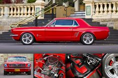 «Keith Keily's 1966 Ford Mustang Coupe - Poster» de HoskingInd