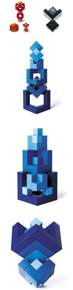 Naef Cubicus Wooden Puzzle Stacking Toy