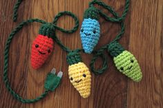 All sizes | Crochet Christmas Lights | Flickr - Photo Sharing!