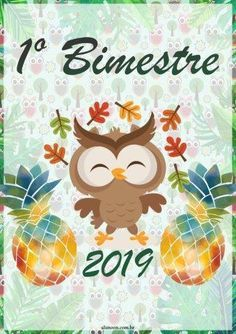 Planner Corujinhas tropicais 2019 - Educação Infantil - Aluno On Paper Art, Back To School, Clip Art, How To Plan, Blog, Planners, Anna, Scrap, Kids Bible Activities
