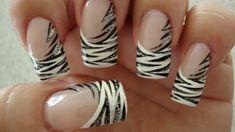 White Tiger - Nail Art Gallery by NAILS Magazine #nailart
