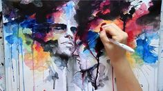 Agnes Cecile ~ speed painting ~Our Endless Abnegation~ Music: Silver Mt. Zion ~ Stumble Then Rise on Some Awkward Morning