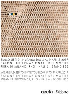 We are looking forward to welcoming you to our exhibiting space at Salone del Mobile. Milano from 4th to 9th April 2017 at Milan Fairgroungs - Rho. Come to visit us to discover the latest creations by Cizeta and l'abbate. Our location is Hall 6 – Booth B25.  www.labbateitalia.it - www.cizetasedie.it Halle, Milan, Space, Words, News, Floor Space, Hall, Horse