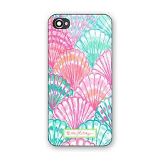 Best Lilly Pulitzer Colorful Shell Pattern Hard Case For iPhone 5/5s, 6/6s, 7/7s
