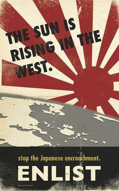 WWII - Pacific War Poster