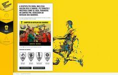 Peça: Aplicativo Projeto: Batalha das Quadras Cliente: Nike Ano: 2013 Agência: LiveAD