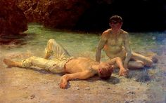 Noonday Heat, Henry Scott Tuke