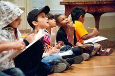 Activities for Grades K-5 • basic questions for teaching • treasure hunts • worksheets exploring art concepts