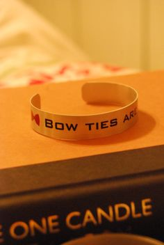 Doctor Who - Bow Ties are Cool Bracelet