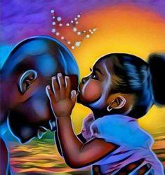Black art pictures, black love art, black girl art, art girl, b American Art, Art Painting, Black Girl Cartoon, Black Art Painting, Female Art, Black Girl Art, Art, Art Pictures, Beautiful Art