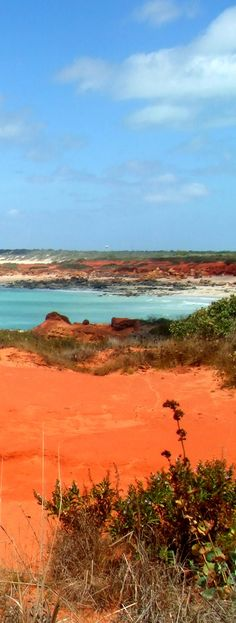 The colour palette of Australia. Gantheaume Point - Broome -Western Australia