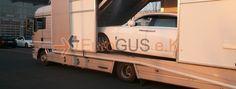 Fahrzeugüberführung per geschlossenen Autotransporter von Köln, Deutschland nach Nizza, Frankreich - EuroGUS e.K. Internationale Spedition
