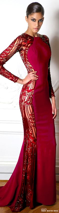 Paris Fashion Week Zuhair Murad Fall/Winter 2014 RTW