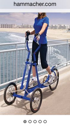 Stay fit with easy store exercise equipment at Hammacher Schlemmer. Browse a wide range of workout equipment, ellipticals, core trainers, and more. Tricycle Bike, Adult Tricycle, Trike Bicycle, Workouts Outside, Hammacher Schlemmer, Volkswagen Golf Mk1, Toned Arms, Low Impact Workout, Futuristic Cars