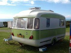 Lottie. Vintage caravan.
