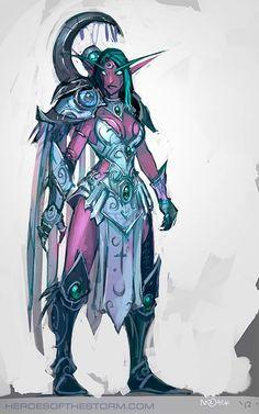 #warcraft #heroesofthestorm #elfe #elf #pretre #priest #tyrande #murmevent #whisperwind