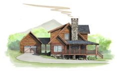 Plan Details Mobile – Natural Element Homes Small Log Home Plans, Small Log Homes, Cabin House Plans, Cabin Floor Plans, Log Cabin Homes, Dream House Plans, Modern Farmhouse Plans, Custom Home Designs, Cabins In The Woods