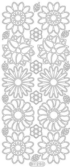 Flowers (sku 1125) | Elizabeth Craft Designs, Inc