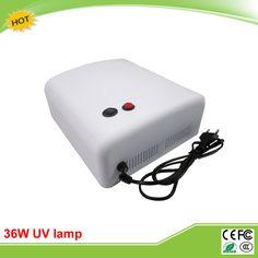 36 Watt uv-kleber trockner FÜHRTE licht für reparatur handy bildschirm UV lampe/licht mit 4 stücke 9 Watt 365nm bulb H4279 licht
