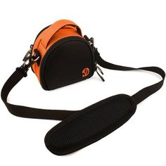 VanGoddy Mini Laurel Carrying Bag Case for Nikon Coolpix A AW120 AW1 AW110 AW100 Digital Cameras Orange * You can get additional details at the image link.