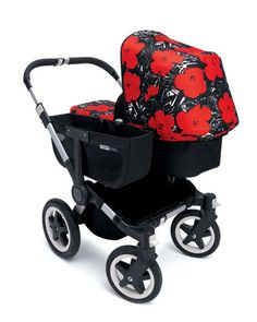 Andy Warhol Donkey Flowers Tailored Fabric Set by Bugaboo at Neiman Marcus.