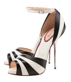 Love these lines. From the Christian Louboutin 20th Anniversary Capsule Collection