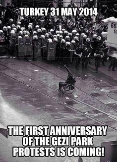 Anniversary of Gezi protest