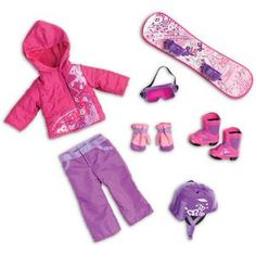 my life doll clothes | My Life As Snowboard Doll Clothing Accessory Set : $24.97