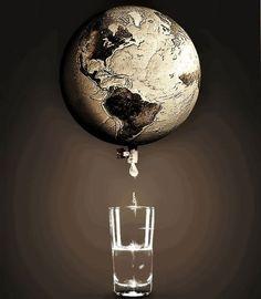 Sem água, sem vida. Preserve-a