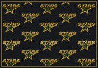 Dallas Stars NHL Repeating Logo Nylon Area Rug. $109.99 Only.