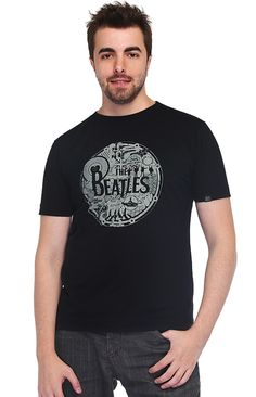 Camiseta Gola Redonda - The Beatles (http://santorock.com/p/camiseta-gola-redonda-santo-rock-the-beatles/)