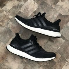 reputable site ae133 78a6d Details about Adidas Ultra Boost 4.0 Black And White Parley Sneakers 606004 Men s  Size 9.5