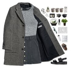 """""""silver"""" by f-resh ❤ liked on Polyvore featuring Oh My Love, MANGO, Jeffrey Campbell, Byredo, Boskke, David Jones, Chicnova Fashion, NARS Cosmetics, FOSSIL and Topshop"""