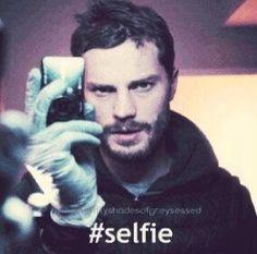 Paul Spector. The Fall. Jamie Dornan. Fifty Shades. Selfie lol