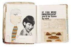 Notebook/sketcbook by Oliver Jeffers - Illustration