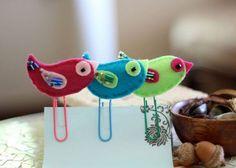 bird bookmarks