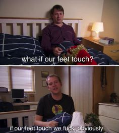 """The horror of accidental human contact. 