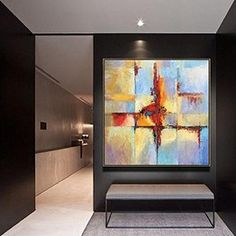 """Price from: $180 Large Original Abstract Painting On Canvas, abstract modern art TG023 Square painting Size from: 22"""" x 22""""   handmade Acrylic from Studio Trend Gallery#abstractpainting #largecanvasart #largeabstractart #originalartwork #originalart #abstractcanvas #texturepainting #homedecorart  #roomdecor #roomdesign #livingroomdecor #wallart #wallartdecor #wallartprint Large Canvas Art, Abstract Canvas Art, Acrylic Art, Canvas Wall Art, Wall Art Prints, Painting Abstract, Decoration, Wall Murals, Modern Art"""