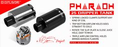 Digiflavor Pharaoh 25 - An innovative Dripper Tank designed by RiP Trippers