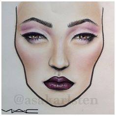Wednesday at #mac #maccosmetics #facechart #archiesgirls #makeup - asakarlsten @ Instagram Web Interface - 5th village