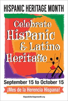 Check out http://hispanicheritagemonth.org!  National Hispanic Heritage Month begins September 15, 2016 and recognizes…