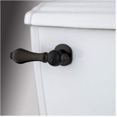 Buy the Kingston Brass Oil Rubbed Bronze Direct. Shop for the Kingston Brass Oil Rubbed Bronze Restoration Metal Tank Lever and save. Victorian Toilet, Black Toilet, Lavatory Faucet, Kingston Brass, Oil Rubbed Bronze, Antique Furniture, 3 D, Door Handles, Restoration