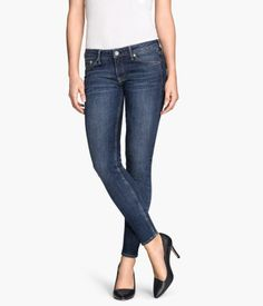 H&M Skinny Low Jeans $39.95