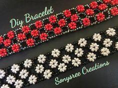 YouTube Right Angle weave bracelet