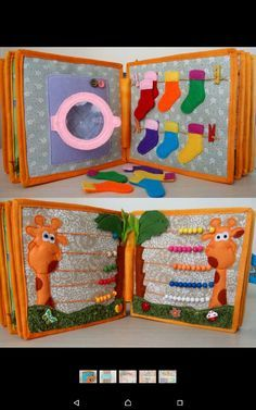 Children's felt book