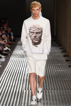 Neil Barrett Spring 2015 Menswear Collection Slideshow on Style.com