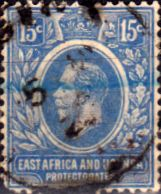 British East Africa and Uganda 1921 King George V SG 70 Good Used Scott Other KUT Stamps HERE