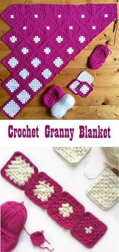 Square Motif Blanket Tutorial - Design Peak Square Motif Blanket Tutorial - Design Peak Learn the ru Crochet Motifs, Afghan Crochet Patterns, Crochet Squares, Crochet Granny, Knitting Patterns, Blanket Crochet, Granny Squares, Granny Square Patterns, Crochet Blanket Tutorial