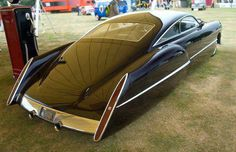 ZZtop's Billy Gibbons' Cadzilla built by custom car builder and legend Boyd Coddington and designed by Larry Ericson. This amazing and yet classic car is based on a 1948 Cadillac Series 62 Sedanette.